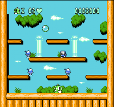 Bubble Bobble Part 2 ingame screenshot