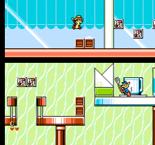 Chip 'n Dale Rescue Rangers 2 ingame screenshot