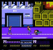Double Dragon II - The Revenge ingame screenshot