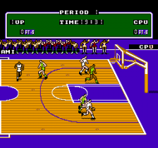 Double Dribble ingame screenshot