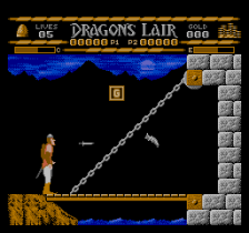 Dragon's Lair ingame screenshot