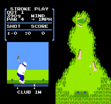 Golf ingame screenshot