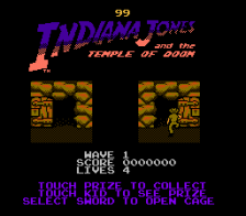 Indiana Jones and the Temple of Doom ingame screenshot