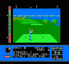 Jack Nicklaus' Greatest 18 Holes of Major Championship Golf ingame screenshot