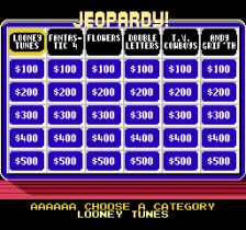 Jeopardy! Junior Edition ingame screenshot