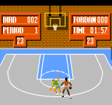 Jordan vs Bird - One On One ingame screenshot
