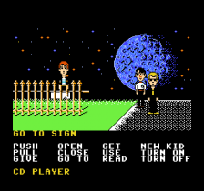 Maniac Mansion ingame screenshot
