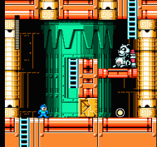 Mega Man 6 ingame screenshot