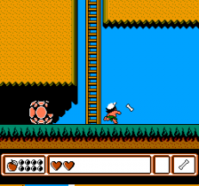 Adventure Island 4 ingame screenshot