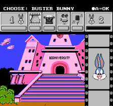 Tiny Toon Adventures Cartoon Workshop ingame screenshot