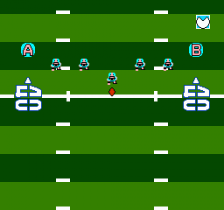Touch Down Fever ingame screenshot
