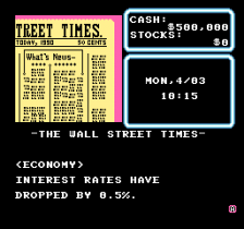 Wall Street Kid ingame screenshot