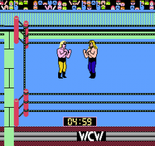 WCW World Championship Wrestling ingame screenshot