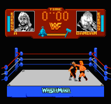 WWF Wrestlemania ingame screenshot