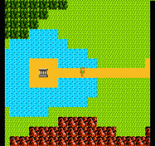 Zelda II - The Adventure of Link ingame screenshot