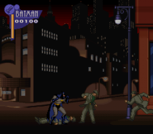 Adventures of Batman & Robin, The ingame screenshot