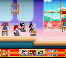 Animaniacs ingame screenshot