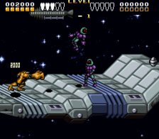 Battletoads & Double Dragon - The Ultimate Team ingame screenshot