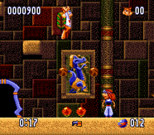 Bubsy II ingame screenshot
