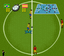 Champions - World Class Soccer ingame screenshot