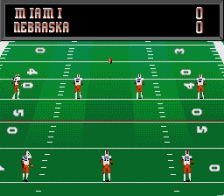 College Football USA '97 - The Road to New Orleans ingame screenshot