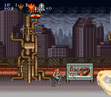 Contra III - The Alien Wars ingame screenshot