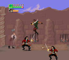 Cutthroat Island ingame screenshot