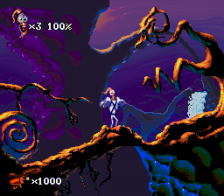 Earthworm Jim 2 ingame screenshot