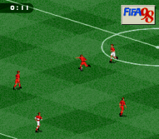 FIFA '98 - Road to World Cup ingame screenshot