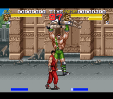 Final Fight 3 ingame screenshot