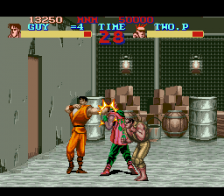 Final Fight Guy ingame screenshot