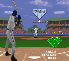 Frank Thomas Big Hurt Baseball ingame screenshot