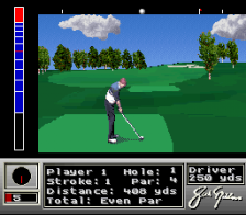 Jack Nicklaus Golf ingame screenshot
