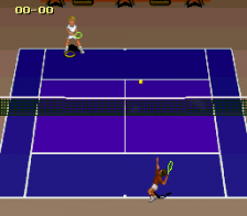 Jimmy Connors Pro Tennis Tour ingame screenshot