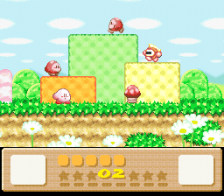 Kirby's Dream Land 3 ingame screenshot