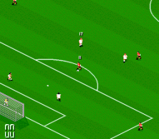 Manchester United Championship Soccer ingame screenshot