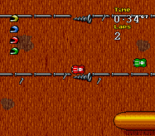 Micro Machines 2 - Turbo Tournament ingame screenshot