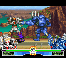 Mighty Morphin Power Rangers - The Fighting Edition ingame screenshot