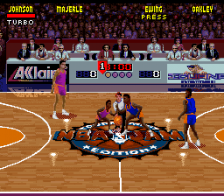 NBA Jam - Tournament Edition ingame screenshot