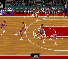 NBA Showdown ingame screenshot