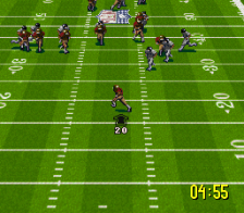 NFL Quarterback Club 96 ingame screenshot