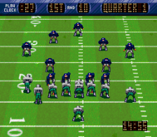 NFL Quarterback Club ingame screenshot