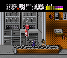 Ninja Gaiden Trilogy ingame screenshot