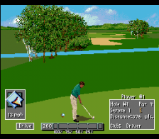 PGA Tour '96 ingame screenshot