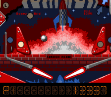 Pinball Dreams ingame screenshot