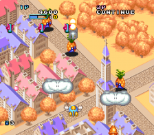 Pop'n TwinBee ingame screenshot