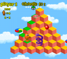 Q-bert 3 ingame screenshot
