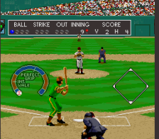 Relief Pitcher ingame screenshot