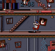 Ren & Stimpy Show, The - Fire Dogs ingame screenshot
