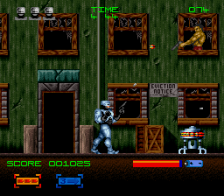 RoboCop 3 ingame screenshot